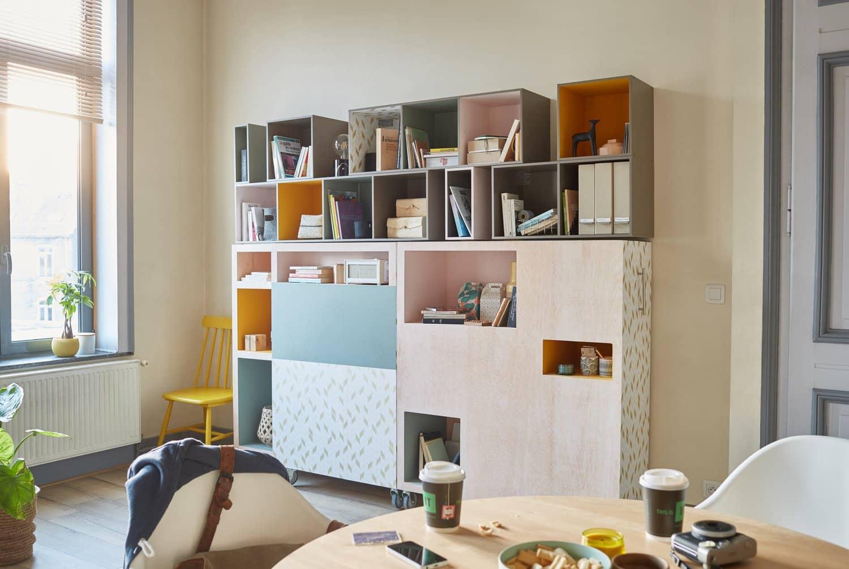 ménagez un espace de travail confortable dans sa cuisine